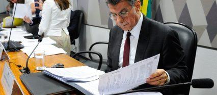 Romero Jucá - Marcos Oliveira-Ag Senado
